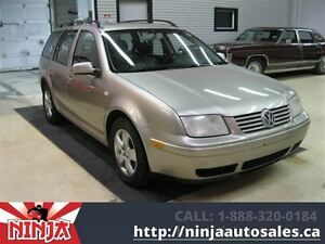 2005 Volkswagen Jetta Wagon GLS Htd Leather and Sunroof