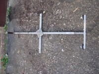 CARAVAN SPARE WHEEL CARRIER FOR ALCO CHASSIS