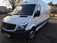 2013 MERCEDES SPRINTER 313 LWB. BRILLIANT DRIVE. FULL HISTORY. RECENTLY SERVICED. E/W. 6 SPEED.