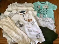 Baby boy bundle age 3/6 months