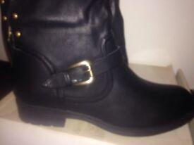 Ax Paris black boots size 7