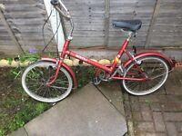 Mistral adult bike vintage