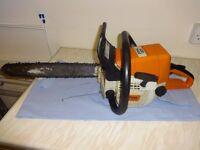 Stihl 023 petrol chainsaw
