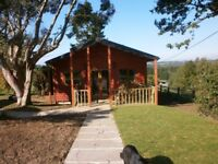Holiday let in log cabin near Bewl Water on a working farm. Sleeps 7. Private fishing pond.