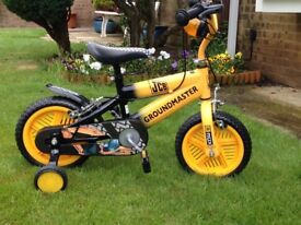 Children's JCB bike