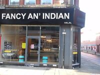 New Business of Indian Cafe/Restaurant for Sale in Bolton Town Centre