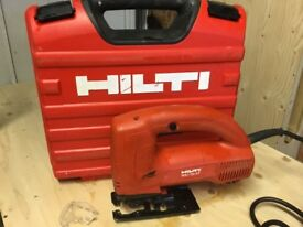 HILTI WSJ 750-ET JIG SAW AND CARRY CASE 110 VOLT