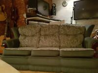 SOFA AND FOOTSTOOL GENUINE PROP FROM TRAINSPOTTING 2. WITH CERTIFICATE. £30 ONO