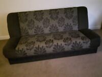 Sofa bed. Excellent condition. Color - brown