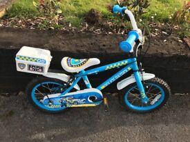 """Apollo children's police bike 14"""" inch wheel"""