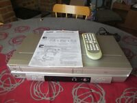 Symphonic UDV 680 VHS Recorder and DVD Player Unit