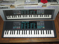 Yamaha Portasound PSS-270 electronic keyboard voice bank synthesizer organ boxed