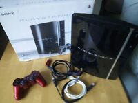 Playstation 3 console 80GB with wireless controller & HDMI cable. Boxed.