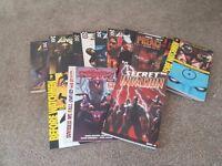15 Graphic novels £60 ono The Punisher, spider-man, preacher, Uber, Before watchman, Dean Koontz