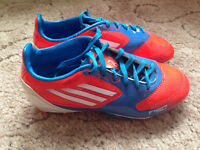 Adidas F10 trx firm ground Junior football boots size 12