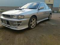 Impreza wrx turbo registered as a non turbo very clean car