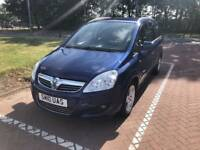 2010 VAUXHALL ZAFIRA 1 YEARS MOT 7 SEATER FULL SERVICE HISTORY PX WELCOME £1995