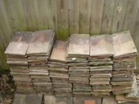 """About 200 used roof tiles, each 6.5""""x10.5""""."""
