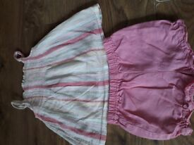 Girls 10 Item Summer Outfit Bundle 6 - 9 Months