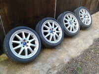 "18"" Genuine Ford alloy wheels 5x108 Mondeo-Transit Connect-Focus"