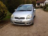 Toyota Yaris automatic only 54000 miles fsh