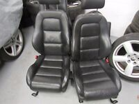 Audi TT 98-06 MK1 225 Quattro Black leather seats interior set