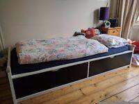 Ikea Single Bed Frame Flaxa