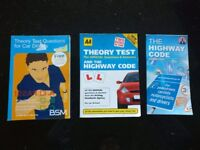 X3 Theory Test & Highway Code Books £5