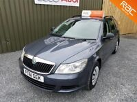 2012 SKODA OCTAVIA 1.6 TDI 105 S CR ESTATE, £30 PER YEAR TAX, LONG MOT, SERVICE HISTORY, SERVICED
