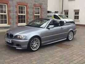STUNNING BMW 318ci MSPORT convertible 320d,330d,520d,525d,530d,Audi,Mercedes,Volkswagen
