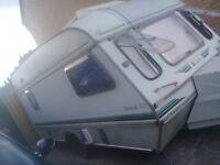 Elddis shamal GT 4berth caravan