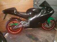 aprilia rs 125 (140cc) swap mx bike
