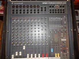 Sound-craft Spirit Power station 600 Mixing Desk