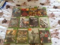 Xbox 360 games age 18 £1 each open to offers