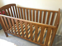 John Lewis Rachel Cotbed Cot Toddler Bed