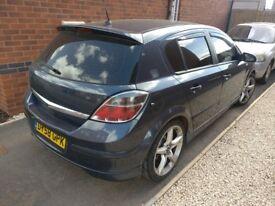 Vauxhall Astra SRI 1.9cdti low mileage £2200