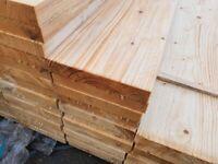 2.4m German White Wood Scaffold Boards