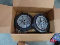 wheel set and border edge attachment for mantis rotavator