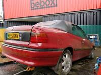 1995 Vauxhall Astra convertible classic barn find