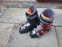 Mens Salomon Sensifit ski boots size 8.5. Used twice, excellent condition. Buyer to collect.