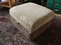 Large Foot Stool with Storage
