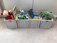 Ikea Branas White Storage Basket x 4 (32x34x32 cm)