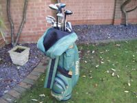 Hippo Carry Bag, Assorted Clubs, Balls, Ideal Starter