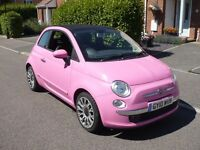 FIAT 500C Limited Edition PINK