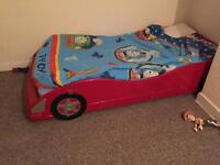 Need Gone!! Red Car shape bed