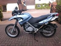 BMW F650GS 652cc single reg 2000 , MoT until 03/10/17, good condition, Dakar seat, heated grips