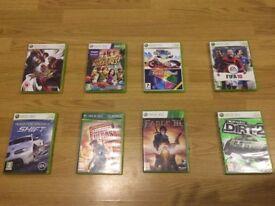 9 XBOX 360 Games