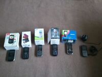 A SELECTION OF MOBILE PHONES X6