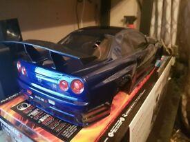 R34 RC CAR ELECTRIC