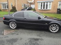 Bmw 330ci in excellent condition inside and out black with cream leather